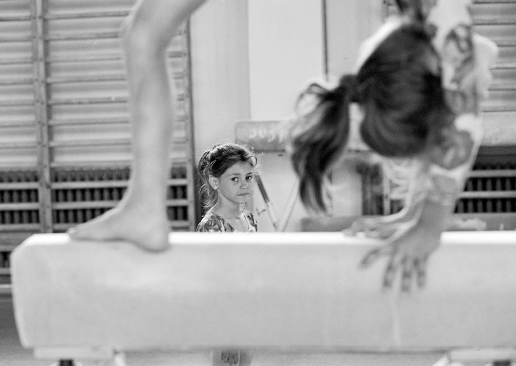 Gymnastics, 2002, © Loredana Nemes