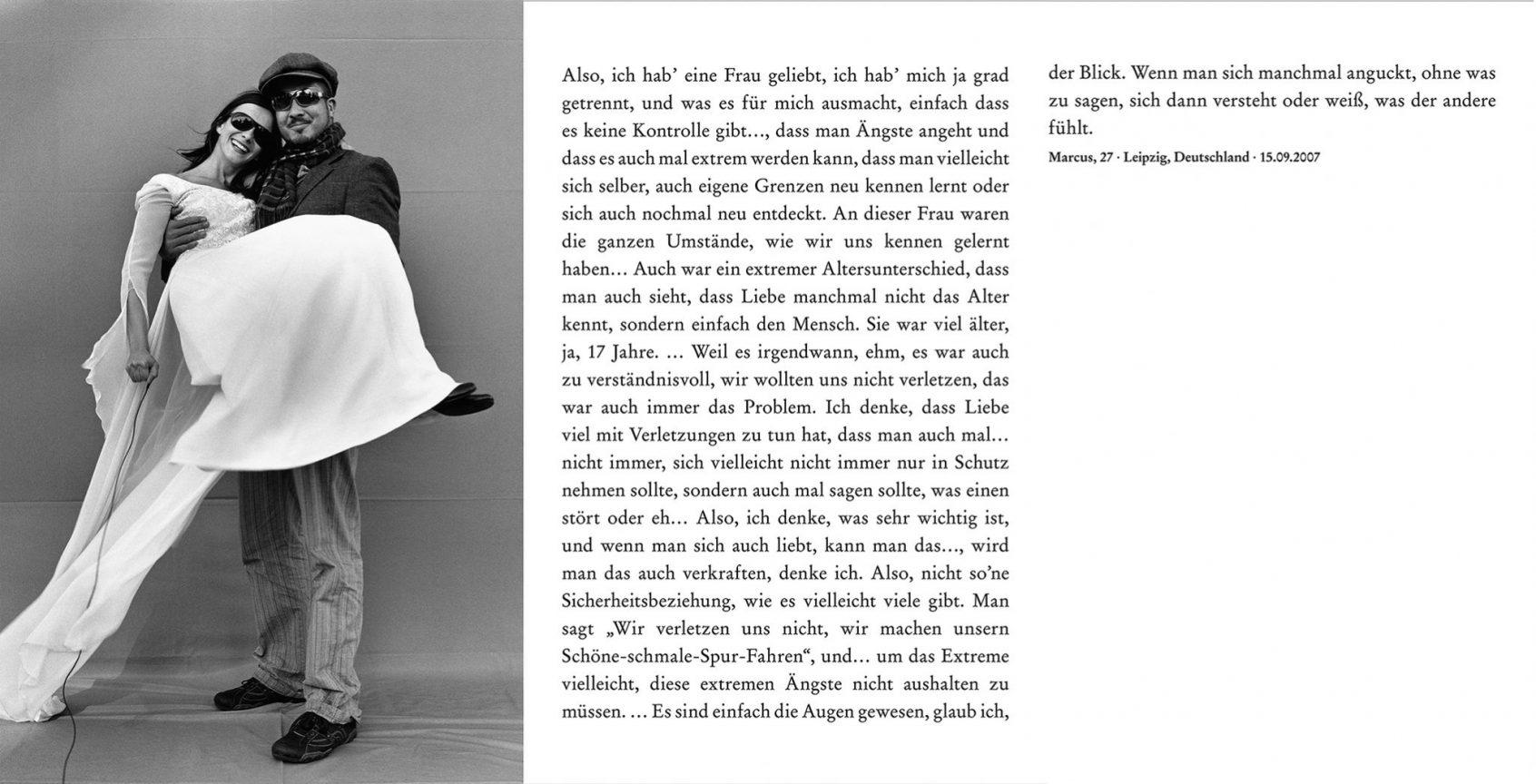 Marcus, 27, Leipzig, 2007, © Loredana Nemes