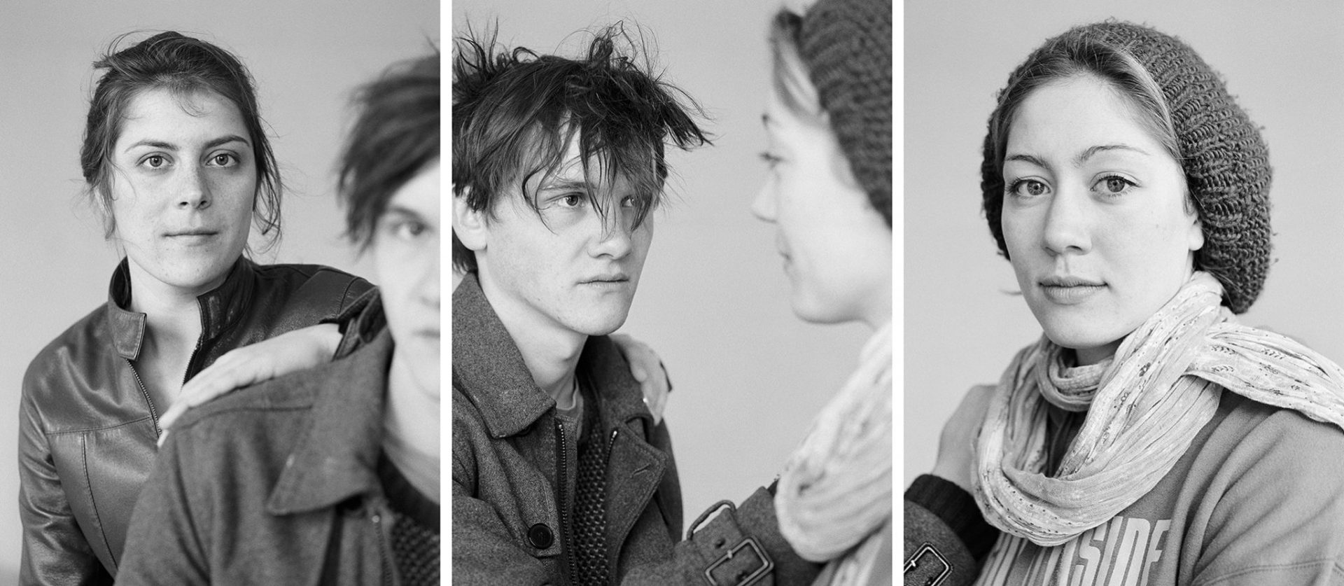 Laura, Jakob und Hannah, 2012 © Loredana Nemes