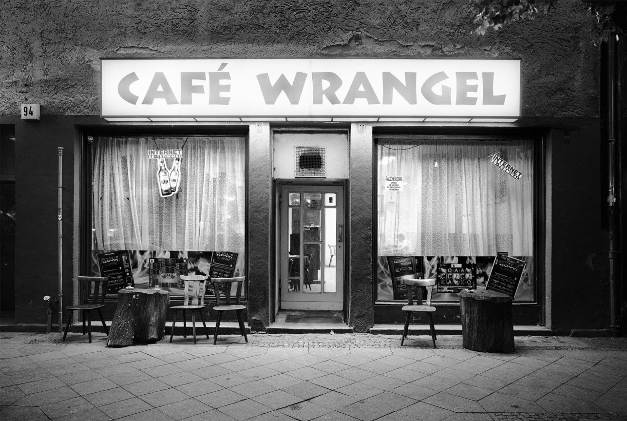 Café Wrangel, Kreuzberg, 2010 © Loredana Nemes