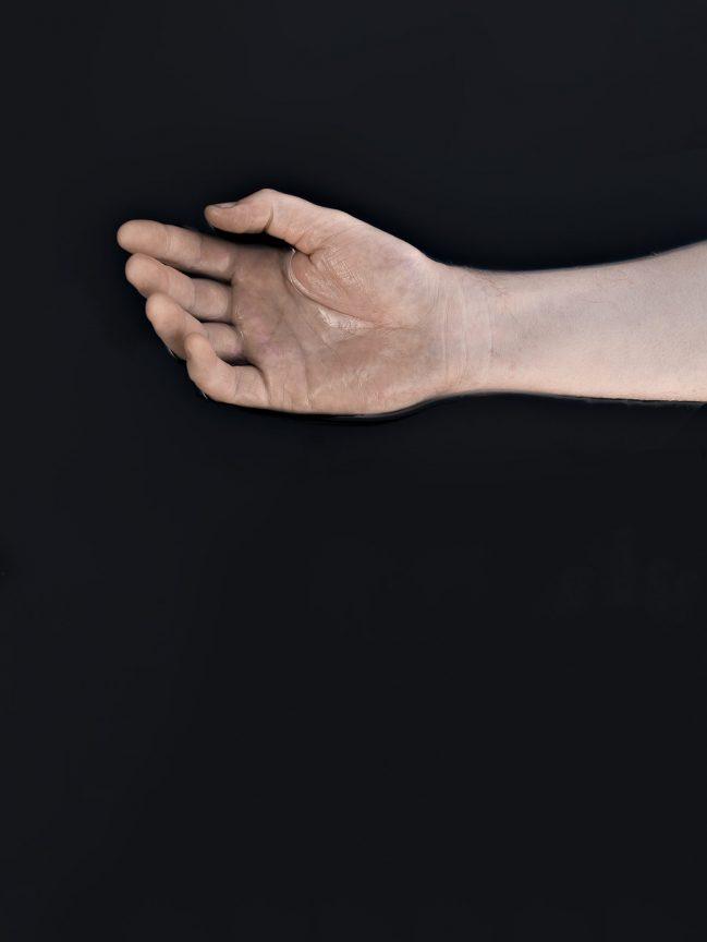 Handfläche, 2017 © Loredana Nemes